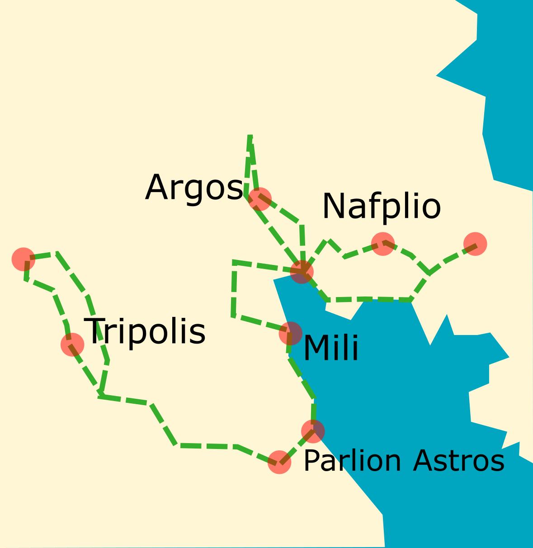 Tour Karte