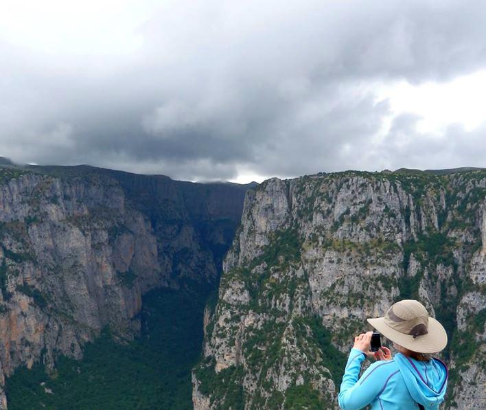 Griechenland Reisen - Vikos Schlucht