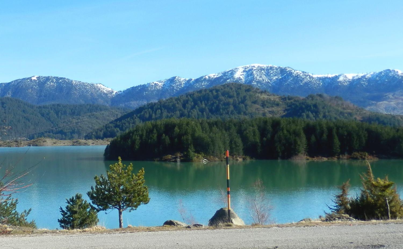 Griechenland Reisen - Aoos See bei Metsovo