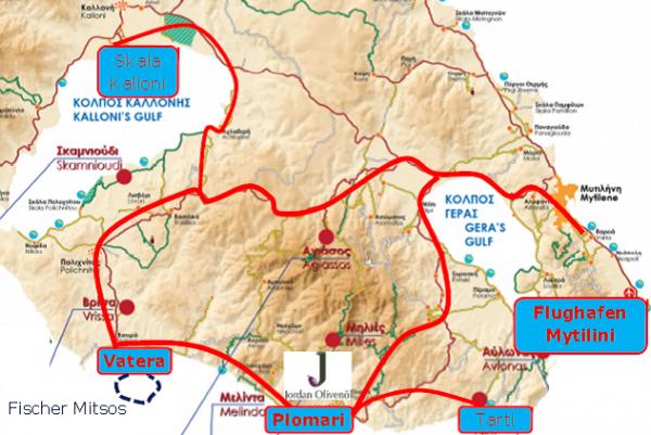 Griechenland Reisen - 8 Tage Erlebnis- und Genussreise mit Leihwagen - Lesbos