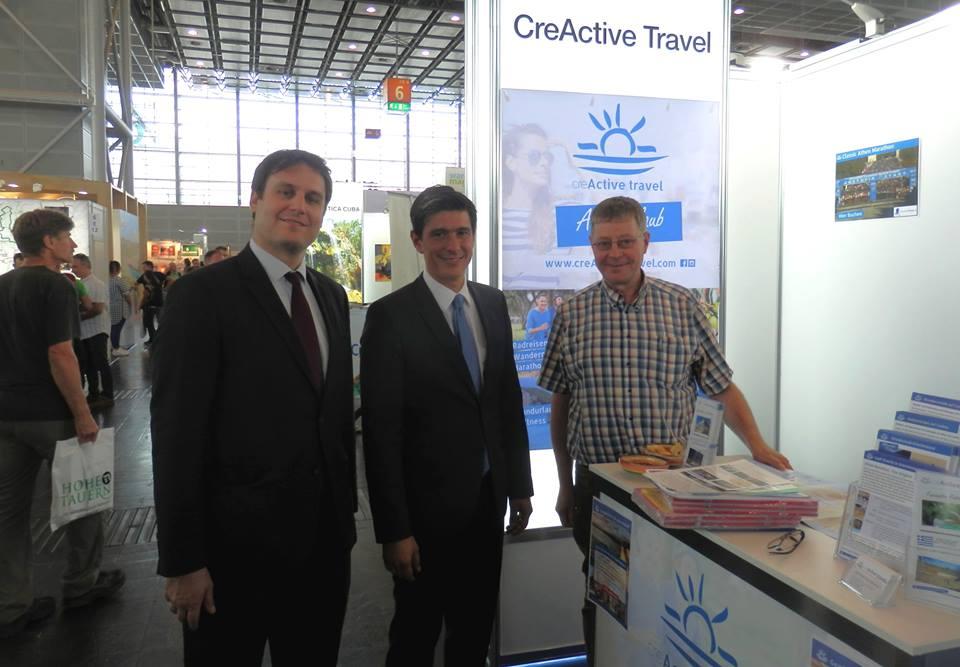 Griechenland Reisen - creActive auf der Tour Natur Outdoormesse in Düsseldorf